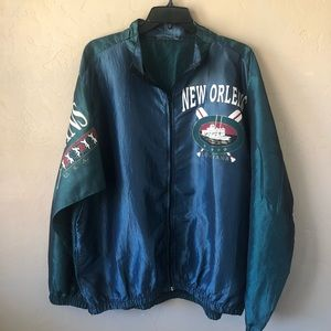 Vintage 1990's New Orleans Louisiana Windbreaker